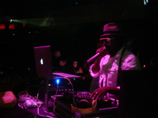 Will.i.am of the Black Eyed Peas performed a guest DJ set as part of DJ AM Fridays at Rain on Aug. 21.