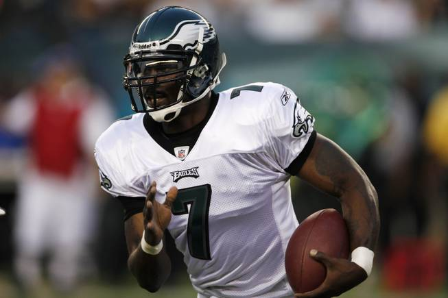 White said he fully backed Michael Vick, who was playing for the first time since going to prison Thursday night.