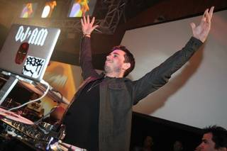 DJ AM performs at Rain Nightclub at the Palms.