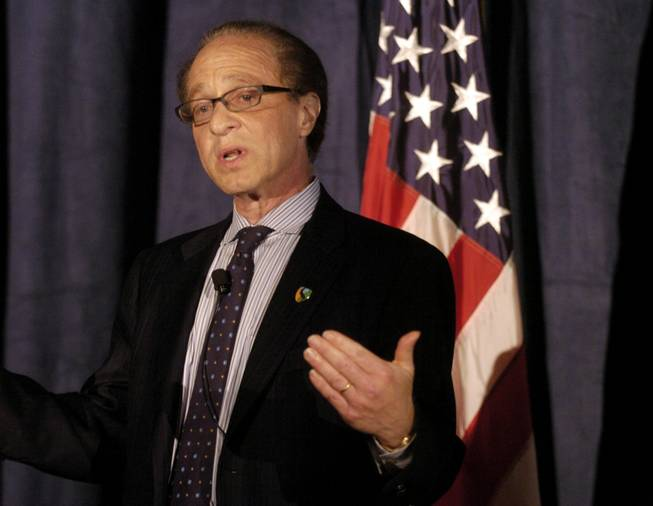 Co-founder of the Singularity University Dr. Ray Kurzweil congratulates the students of the first commencement of the University in Mountain View, Calif., Aug. 28, 2009.