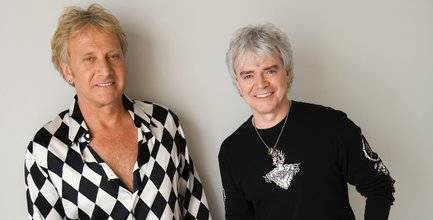 Air Supply's Graham Russell, left, and Russell Hitchcock.