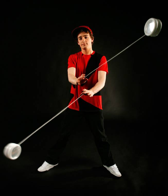 "Yo-yo champion Aaron Sparks is among the performers in ""Britain's Top Talent."""