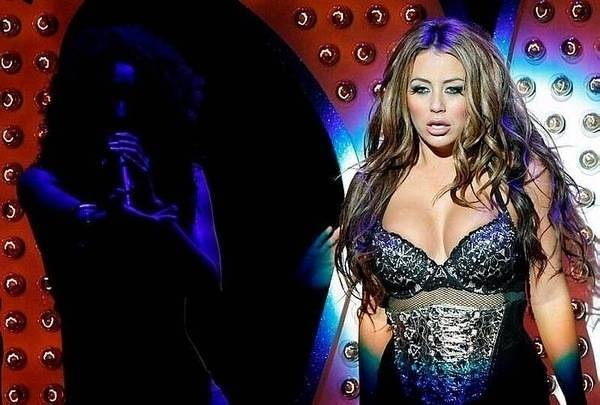 Aubrey O'Day is Peep Diva in <em>Peepshow</em> at Planet Hollywood.