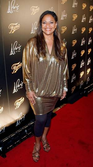 "Actress and choreographer Debbie Allen arrives at the screening of ""Fame"" at the Paris Las Vegas Sept. 24, 2009, in Las Vegas. The film opens nationwide in the United States on Sept. 25."