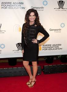 Marie Osmond arrives at the 14th annual Andre Agassi Foundation for Education's Grand Slam for Children benefit at Wynn Las Vegas.
