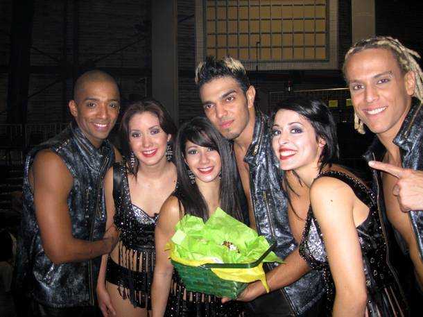 Las Vegas-based crew AfroBorike didn't take home the trophy during the Season 4 finale of America's Best Dance Crew, but they were all smiles after the cameras stopped rolling on Sunday, Sept. 27, 2009.