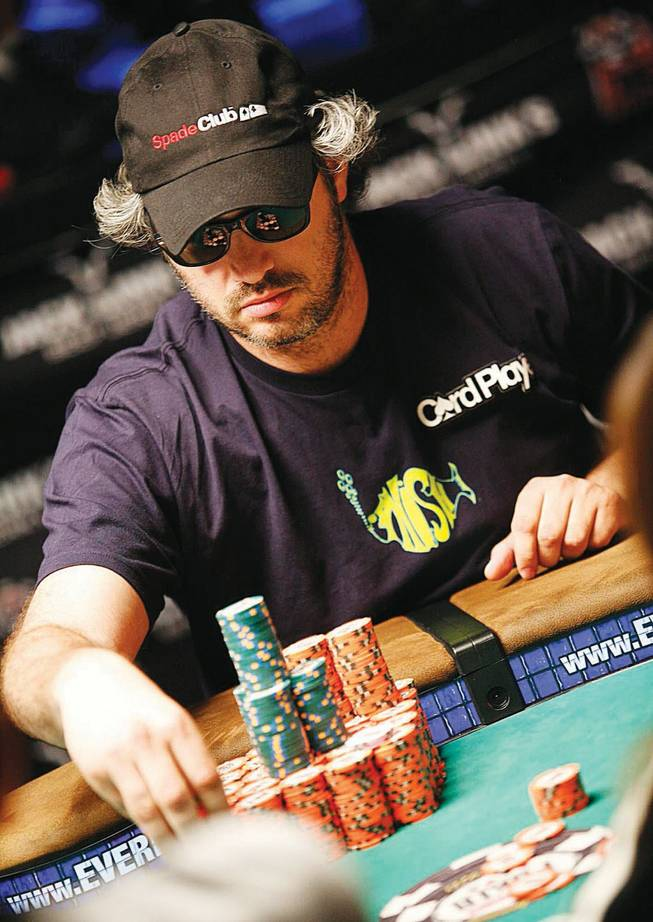 Jeff Shulman of Las Vegas says he hasn't played in a poker tournament since July.