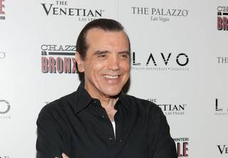 Chazz Palminteri at Lavo in the Palazzo.