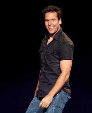 Dane Cook performs at The Joint in the Hard Rock Hotel.
