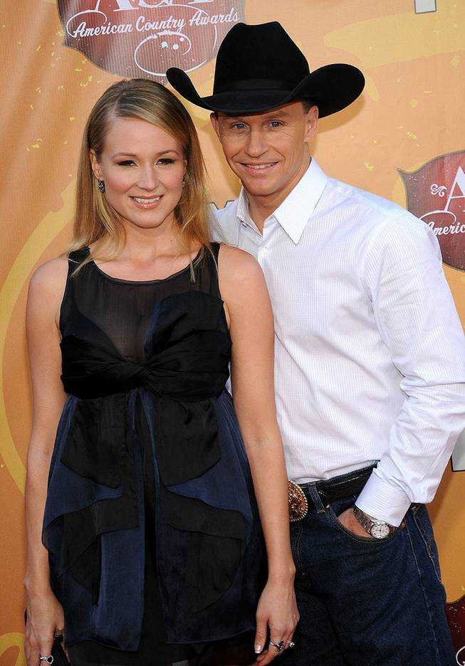 Jewel and Ty Murray at the inaugural American Country Awards at MGM Grand Garden Arena on Dec. 6, 2010.