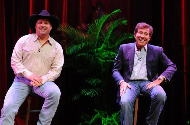 Garth Brooks and Steve Wynn.