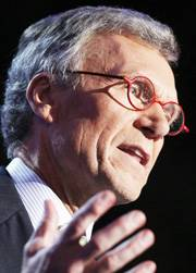 Some analysts see similarities in the situations of then-Senate Majority Leader Tom Daschle, pictured, who was defeated in 2004, and Nevada's Sen. Harry Reid this year.