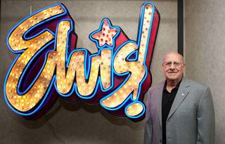 Joe Esposito, Elvis' tour manager, at King's Ransom Museum's Elvis Presley exhibit at the Imperial Palace.