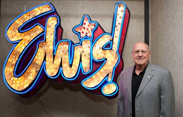 Joe Esposito, Elvis' tour manager, at King's Ransom Museum's Elvis ...