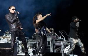 Black Eyed Peas @Sam Boyd Stadium