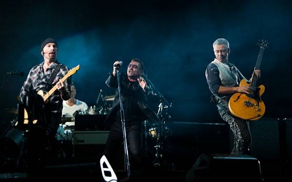 U2 performs at Sam Boyd Silver Bowl Stadium in Las ...