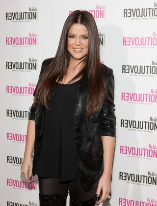 Khloe Kardashian hosts Closet Sundays' first anniversary party at The Beatles Revolution Lounge in The Mirage on Oct. 25, 2009.