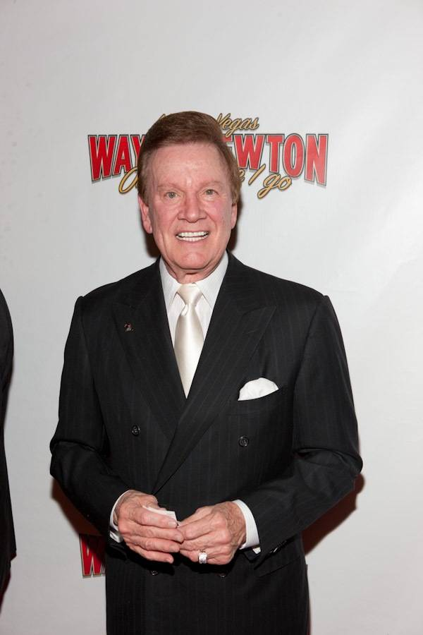 Wink Martindale at the grand opening of Wayne Newton's <em>Once Before I Go</em> at the Tropicana on Oct. 28, 2009.