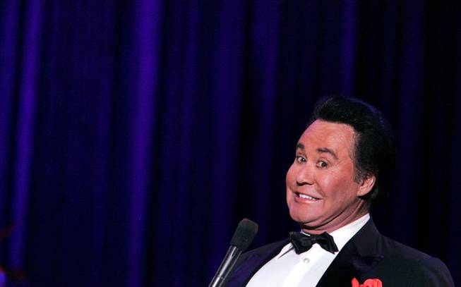 "Wayne Newton performs during the grand opening night of Wayne Newton's ""Once Before I Go"" at the Tropicana in Las Vegas Wednesday, Oct. 28, 2009."
