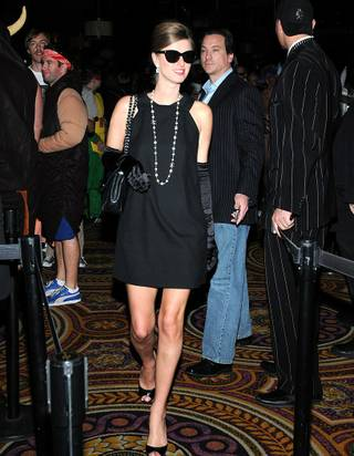 Nicky Hilton hosts Halloween night at Pure in Caesars Palace on Oct. 31, 2009.