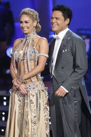 Kym Johnson and Donny Osmond on Dancing With the Stars.