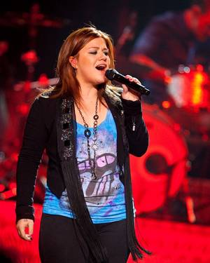 Kelly Clarkson performs at The Joint in the Hard Rock Hotel on Nov. 6, 2009.