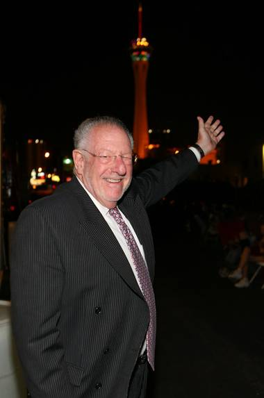 Mayor Oscar Goodman at First Friday, Nov. 6, 2009.