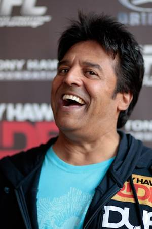 Erik Estrada on the red carpet at the Tony Hawk Foundation fundraiser at the Wynn on Nov. 7, 2009.