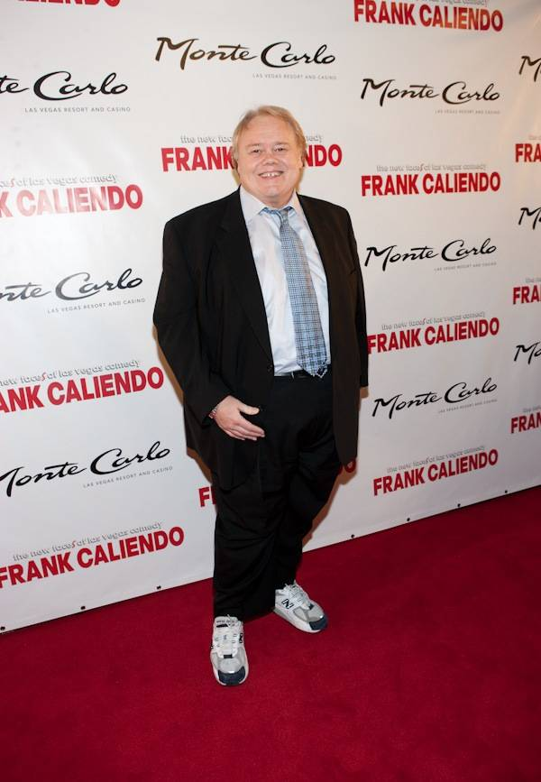 Louie Anderson at Frank Caliendo's grand opening at the Monte Carlo on Nov. 13, 2009.
