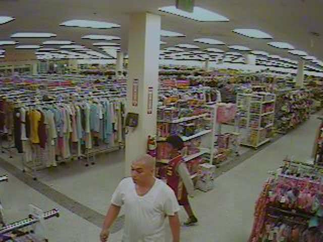 Police are looking for this man in connection with a robbery Oct. 22 of a Ross store in North Las Vegas.