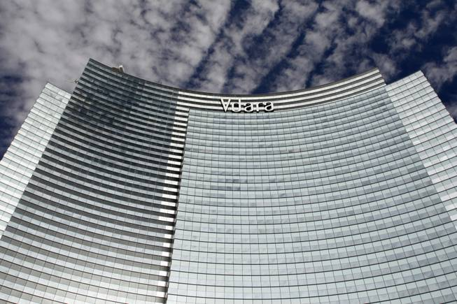 The Vdara Hotel and Spa is shown during a tour of MGM Mirage's CityCenter project Wednesday, Nov. 18, 2009.