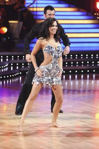 Melissa Rycroft and Tony Dovolani on ABC's Dancing With the Stars.