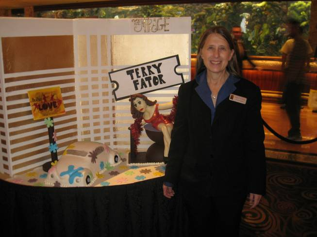 Pamela Kovach, who has been with the hotel (the real thing, not the cake) since it opened Nov. 22, 1989.