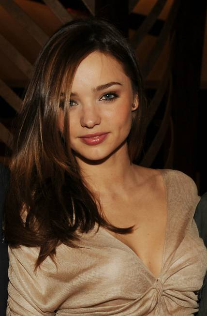 Miranda Kerr at the <em>Vanity Fair</em> party for the grand ...