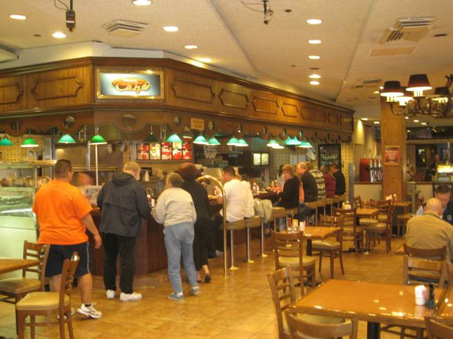Binion's Cafe, home of the $5 burger.