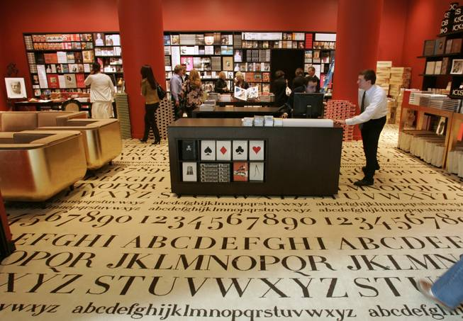Specialty publisher and bookseller Assouline is one of the featured tenants of Crystals, the shopping component of CityCenter.