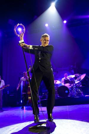 Morrissey performs at The Joint in the Hard Rock Hotel on Dec. 4, 2009.