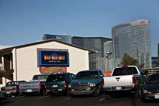 Wild Wild West casino located just west of I-215 and Tropicana on Wednesday afternoon, Dec. 9, 2009 in Las Vegas.