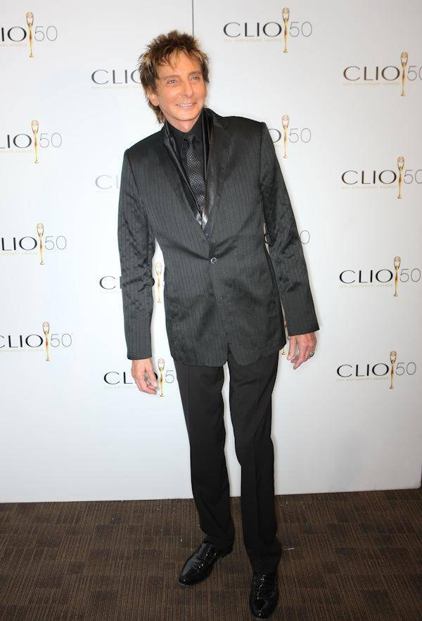 Barry Manilow attends the Clio Awards on May 18, 2009.
