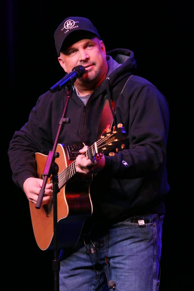 Garth Brooks, shown performing during his first weekend at Encore Theater.