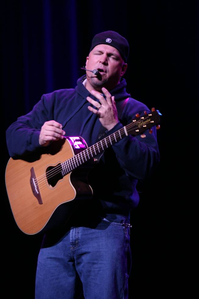 Garth Brooks, shown performing during his opening weekend at Encore Theater.