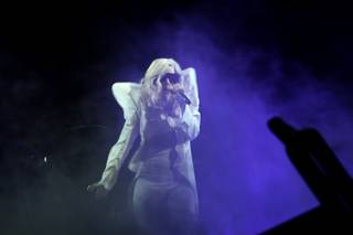 Pop phenomenon Lady Gaga performs Friday night at Pearl at the Palms. She brought her