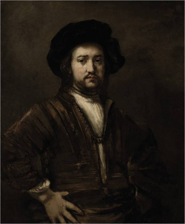 """Portrait of a Man, Half-Length, With His Arms Akimbo"" by Rembrandt was reportedly purchased on behalf of Steve Wynn."