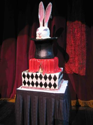 Criss Angel celebrates his 42nd birthday at the Luxor on Dec. 19, 2009.