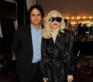 Palms mogul George Maloof and Lady Gaga at the Palms on Dec. 18, 2009.
