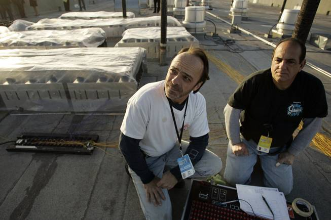Pyrotechnicians Kevin Cosgrove, left, and Tony Magno, from Fireworks by ...