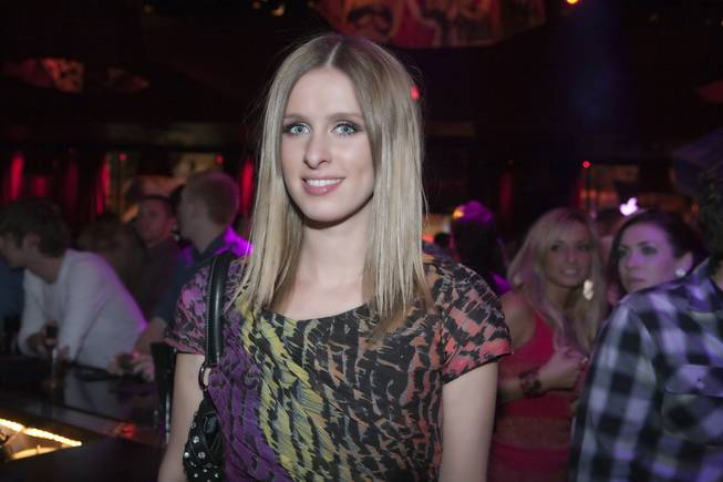 Nicky Hilton at Wasted Space inside the Hard Rock Hotel on Dec. 30, 2009.