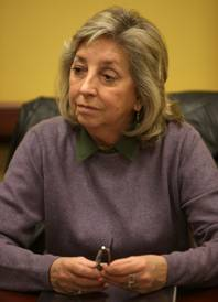Dina Titus speaks during a meeting with the Las Vegas Sun editorial board on January 5, 2010.