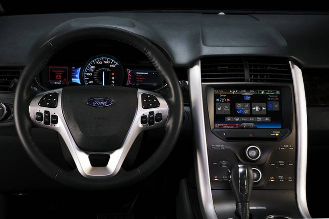 "Ford unveils its ""MyFord Touch"" technology Thursday at CES in Las Vegas."