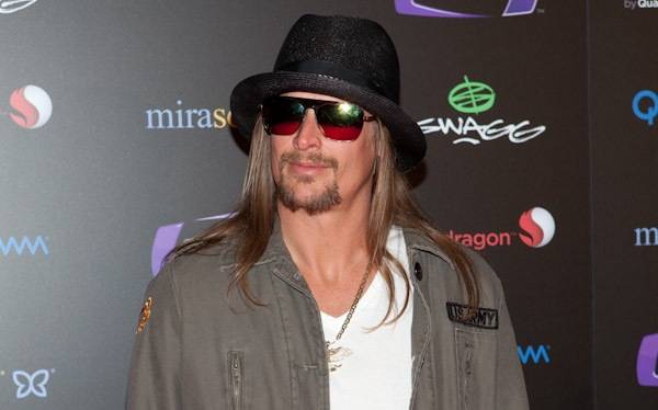 Kid Rock arrives at his SWAGG VIP concert at The Joint inside the Hard Rock Hotel on Jan. 7, 2010.